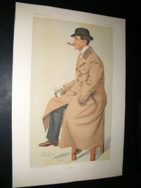 Vanity Fair Print 1895 Phil May, Artist